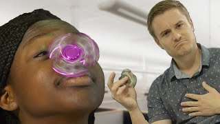People Try Tricks With Retro Toys
