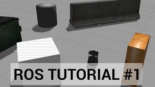 ROS tutorial #1: Introduction, Installing ROS, and running the Turtlebot simulator.
