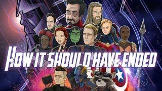 How Avengers Endgame Should Have Ended