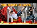 EL SUELO ES LAVA CHALLENGE!! THE FLOOR I...mp3