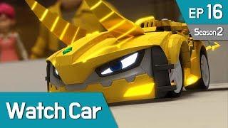 Power Battle Watch Car S2 EP16 Clash Again! Jino VS Kai