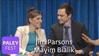 The Big Bang Theory - Jim Parsons and Mayim Bialik on Amy and Sheldon