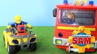 Feuerwehrmann Sam Spielzeug -  Jupiter und Mercury Feuerwehrauto  | Werbung