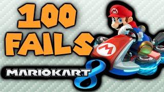 100 Ways to Fail in Mario Kart 8!