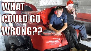 How far can we push a twin turbo ZL1 on pump gas?