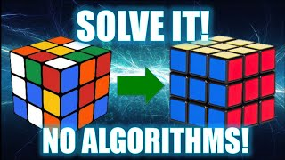 How to Solve a 3x3 Rubik