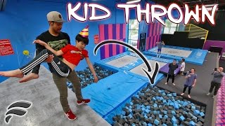 KIDS BIRTHDAY WISH PERSONAL TRAMPOLINE PARK!