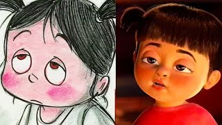 """Monsters Inc. Side by Side """"Fright Night"""" Pt 3 