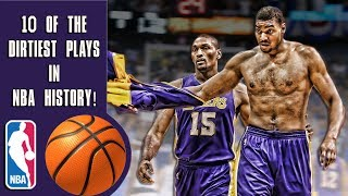 10 of the dirtiest plays in NBA history!
