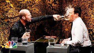 Water War with Jason Statham (Late Night with Jimmy Fallon)