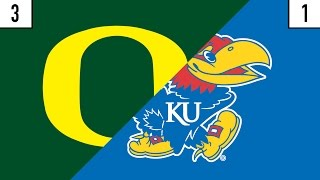3 Oregon vs. 1 Kansas Prediction | Who