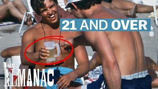 Why the US drinking age is 21