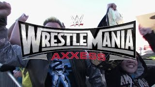 WrestleMania Axxess - Tickets Available Saturday, January 31 at 9a.m. PT