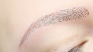 Microblading almost alopecia Baltic brows