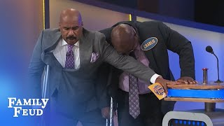 Hurry up man!! | Family Feud