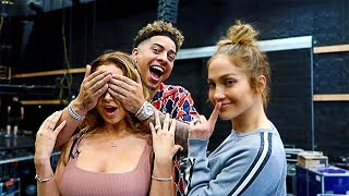 SURPRISING CATHERINE WITH HER FAVORITE PERSON IN THE WORLD!!! **JENNIFER LOPEZ**