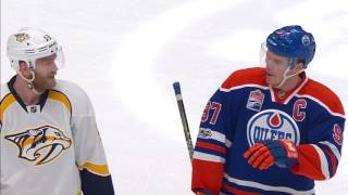 Should this have been a penalty shot for McDavid in overtime?