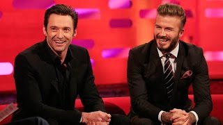 David Beckham's hairstyles - The Graham Norton Show: Series 16 Episode 20 - BBC One