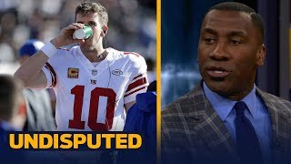 Skip and Shannon react to reports that Eli Manning will start Week 14 vs Dallas | UNDISPUTED