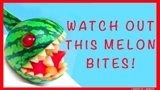 How to Make a Watermelon Piranha Bowl / DIY, Party Idea, Tutorial, Fun Food for Kids