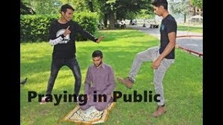 Praying in Public Islamophobia Harassment Social Experiment In Italy