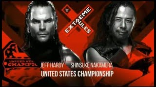 WWE Extreme Rules 2018 Full Match Card HD