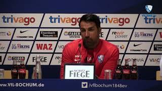 Die Pressekonferenz vor der Partie DSC Arminia Bielefeld - VfL Bochum 1848