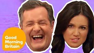 Top Ten Piers Morgan And Susanna Reid Moments!   Good Morning Britain