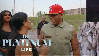 """The Platinum Life"" Stars Get VIP Treatment at Nelly Show 