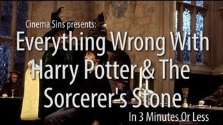 Everything Wrong With Harry Potter & The Sorcerer