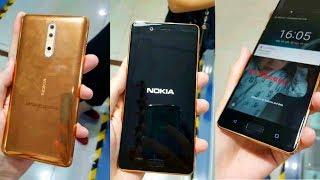 Nokia 8 - HANDS ON LEAK!