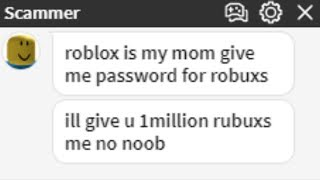TROLLING A ROBLOX SCAMMER! #6