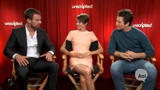 Divergent cast funny moments