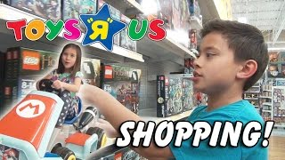 "TOYS ""R"" US SHOPPING! LEGO, Minecraft, My Little Pony, Hello Kitty, Hot Wheels, Crayola and More!"