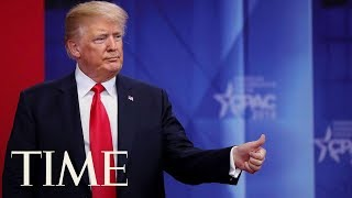 President Trump Says Arming Teachers Will Keep Schools Safe At CPAC | TIME