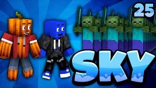 WTF! KILLER-ZOMBIES mit WAFFEN! - Minecraft SKY #25 | DieBuddiesZocken