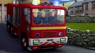 🔥  Feuerwehrmann Sam - Feuer in der Feuerwache | 5 Folgen |  Cartoon für Kinder