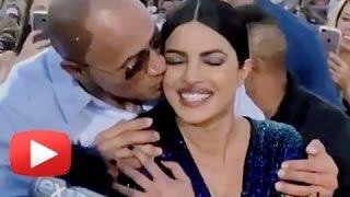 Dwayne Johnson HUGGED Priyanka Chopra In PUBLIC | Baywatch World Premiere Miami