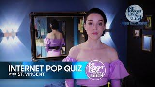 Internet Pop Quiz: St. Vincent