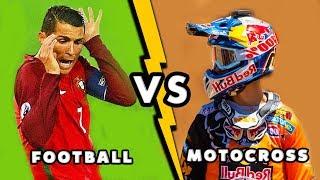 MOTOCROSS VS FOOTBALL - [HD]