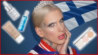 FULL FACE USING ONLY FOREIGN MAKEUP | Jeffree Star