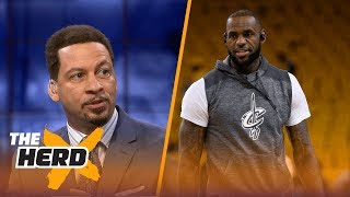 LeBron James and Lonzo Ball teaming up? Chris Broussard says it could happen | THE HERD