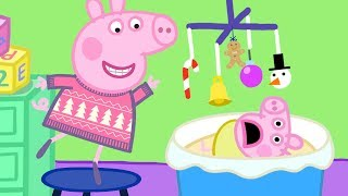 Peppa Pig English Episodes 🎄 Visiting Cousin Chole