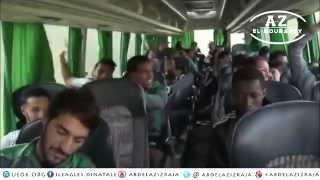لاعبو الرجاء الرياضي البيضاوي يغنون