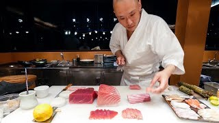 Sushi Omakase -  PERFECT Japanese Food Sushi by Chef Hiroyuki Sato at Sri Panwa, Phuket!