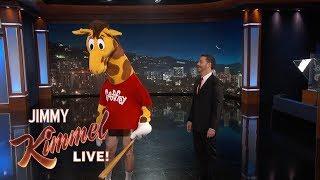 Geoffrey the Giraffe is BACK!