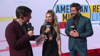 Thomas Rhett Red Carpet Interview - AMAs 2018