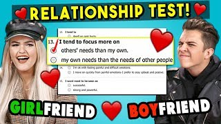 Couples Take A Love Compatibility Test For Valentine