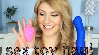 TRYING OUT **NEW** SEX TOYS