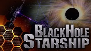 Black Hole-powered Starship